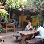 Café San Rafael es muy visitado por turistas / Café San Rafael is very popular with tourists.