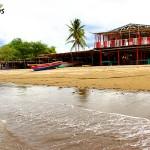 La playa Punta Ratón en el municipio de Marcovia, es famosa por sus tranquilas aguas.