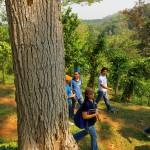 Parque Las Américas fue creado para el sano esparcimiento de los viajeros.