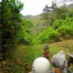 La aventura también se puede vivir en Omoa.