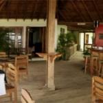 Bar y restaurante en Lands End en Roatán Islas de La Bahía Honduras