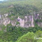Canopy Extremo La Campa es considerado uno de los más altos de Centroamérica.