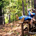 En La Esperanza también se puede practicar canopy.