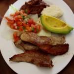 Delicias de Típicos El Jarrón en Gracias / The delights of Típicos El Jarrón.