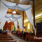 Interior de la iglesia católica de San Marcos.