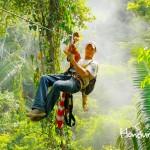 La Ceiba tiene dos ofertas de canopy, uno en la cuenca del río Cangrejal y otro en la comunidad de Sambo Creek.
