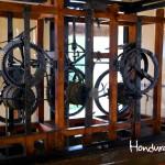Mecanismo del Reloj Moro, el más antiguo de América aún en funcionamiento.
