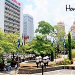 Parque central de San Pedro Sula, Miguel Paz Barahona.