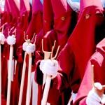 Procesión del Santo Entierro en Semana Santa.