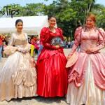 Réplicas de la vestimenta durante la época colonial en Comayagua.
