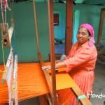 Los famosos telares Lencas pueden ser adquiridos en La Esperanza.