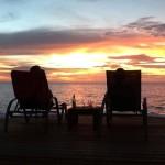 Vistas espectaculares en la playa de Lands End en Roatán Islas de La Bahía Hondruas