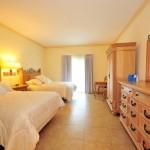 El hotel cuenta con 267 confortables espacios entre villas y habitaciones.
