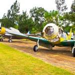 Aeronaves en el Museo del Aire.
