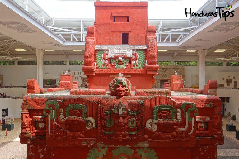Réplica del Templo Rosalila en el Museo de Escultura.
