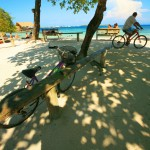Playa Cheppes, una de las más visitadas.