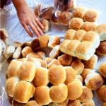 El pan de coco, muy tradicional de la costa norte de Honduras.