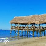 Playa de Cienaguita, una de las más populares de Puerto Cortés.