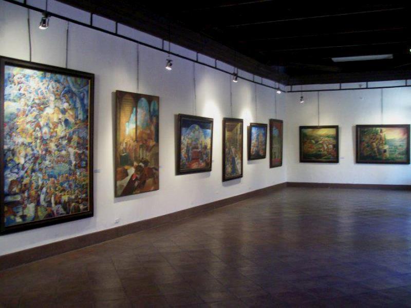 Museo del Hombre Hondureño le muestra colecciones pictóricas.
