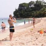 Una de las playas más visitadas del Parque Nacional Jeannette Kawas en la Península de Punta Sal /