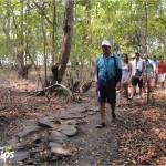 Al llegar al parque nacional, el recorrido inicia usualmente en su zona núcleo, siempre acompañados de un guía /