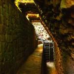Es sorprendente como los mayas tenian sistemas de desagüe.