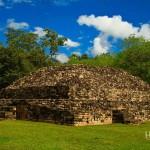 No todas las estructuras han sido restauradas en su totalidad.
