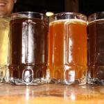 Deliciosas cervezas artesanales / Delicious craft beers.