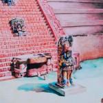 Copán en una fotografía: La Escalinata Jeroglífica