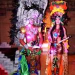 Trajes alusivos a la cultura y folclor hondureño.