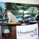Todos podían acercarse al stand de Honduras Tips para disfrutar una tacita de café.