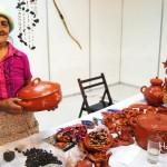 Doña Mercedes, talentosa artesana de Gracias, Lempira en Honduras.