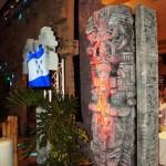 Honduras se lució con la decoración alusiva a Copán 2012.