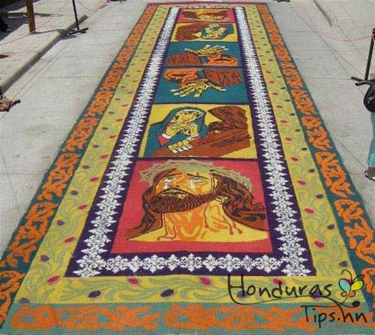 Arte y Religion durante la Semana Santa en Comayagua