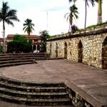 Parque Central y Mercado Municipal en Copán Ruinas