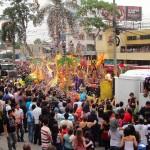 Gran Carnaval con desfile de carrozas, engalanarán este sábado a San Pedro Sula.