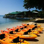 Kayak Marino en la bella Roatán