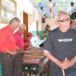 Mucha música al son de la marimba, hace disfrutar a los miembros del Asilo La Inmaculada Concepción.