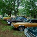 Uno de los eventos más conmemorativos que han celebrado en Cascata Lodge es el show de autos clásicos / One of the commemorative events hosted at Cascata Lodge is the classic car show