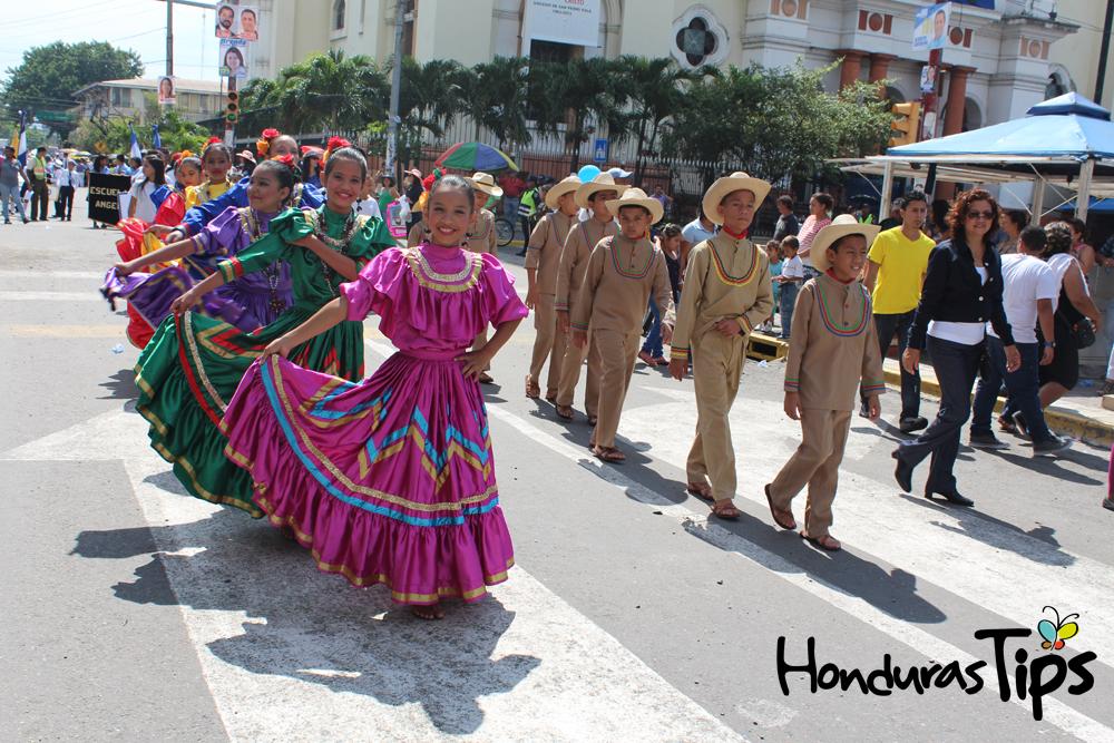 El Día de Independencia es una celebración de la cultura e historia hondureña.