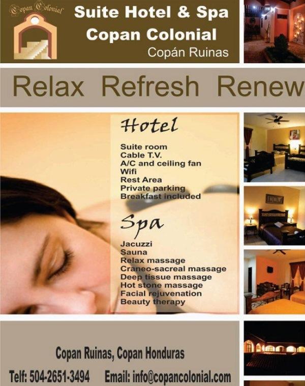 hotel y spa cop n colonial honduras tips. Black Bedroom Furniture Sets. Home Design Ideas