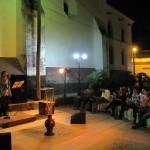 Los eventos artísticos son comunes en Kaldi's / Artistic events are common in Kaldi's.