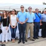 Entre los invitados especiales asistieron el alcalde y el gobernador de Roatán, que arribaron en avioneta piloteada por Ismael Navarro, estrenando la pista.