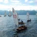 Campeonato de Veleros en el Lago de Yojoa