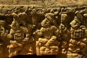Altar Q en Parque Arqueológico Copán Ruinas