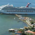 Inicia temporada alta de cruceros a Roatán