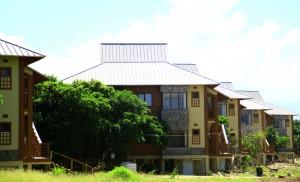 Las villas están prácticamente listas para recibir a los turistas a inicios del próximo año. (Fotografía de: Diario La Prensa)