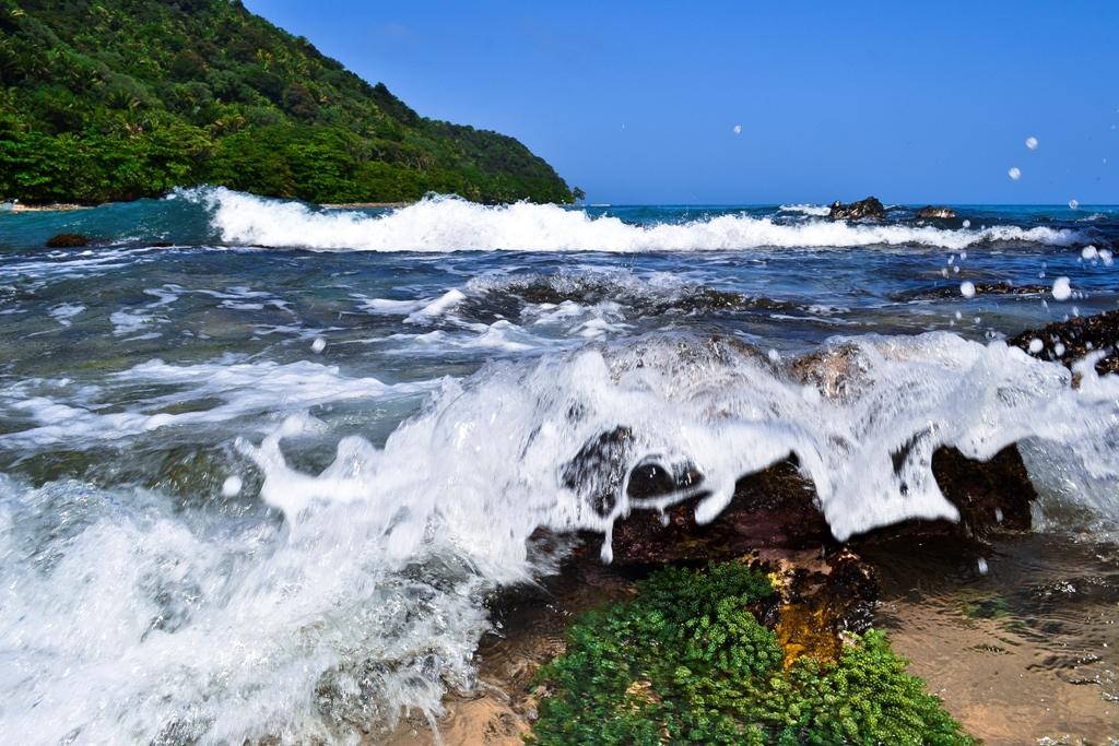Es fácil identificar el horizonte en las fotografías de paisaje, como en la playa; es la linea que se forma entre el cielo y el agua.