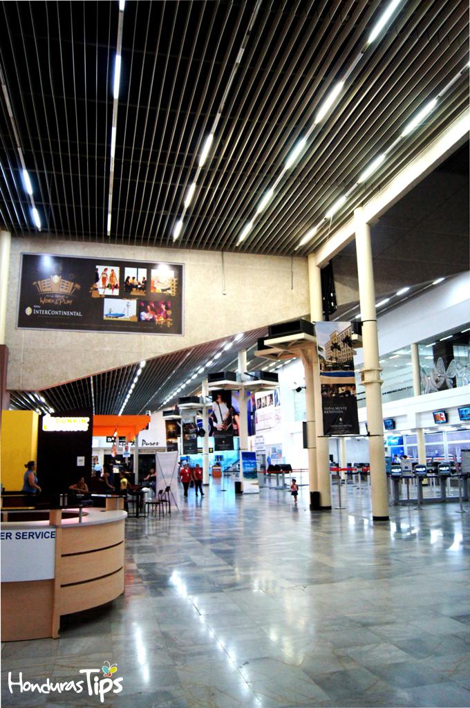 Aeropuerto Internacional Ramón Villeda Morales, San Pedro Sula.