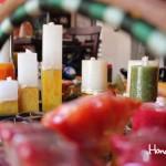 Hermosas velas que embellecerán su hogar / Beautiful candles that will embellish your home.
